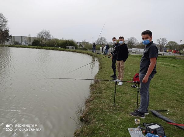 Activités Vie Scolaire : Après-midi Pêche